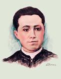 Nació en Buenavista de Cuéllar, Guanajuato el 29 de diciembre de 1888. En 1902 se matriculó en el seminario conciliar de Chilapa. Ocurrente sin ser grosero o insidioso, unió su índole inquieta a una sólida piedad. Despierto y dedicado, alcanzaba sin engreimiento los primeros lugares en concursos y exámenes públicos.